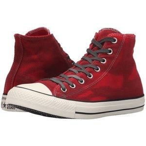 Red Converse Chuck Taylor Shoes